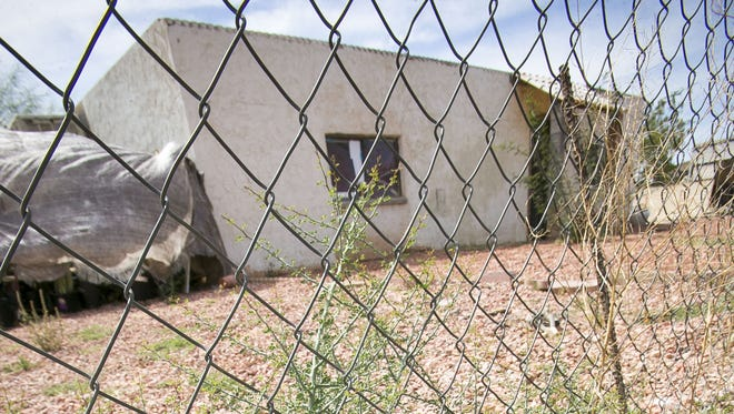 The home in Surprise where a child died on Tuesday, May 26, 2015.