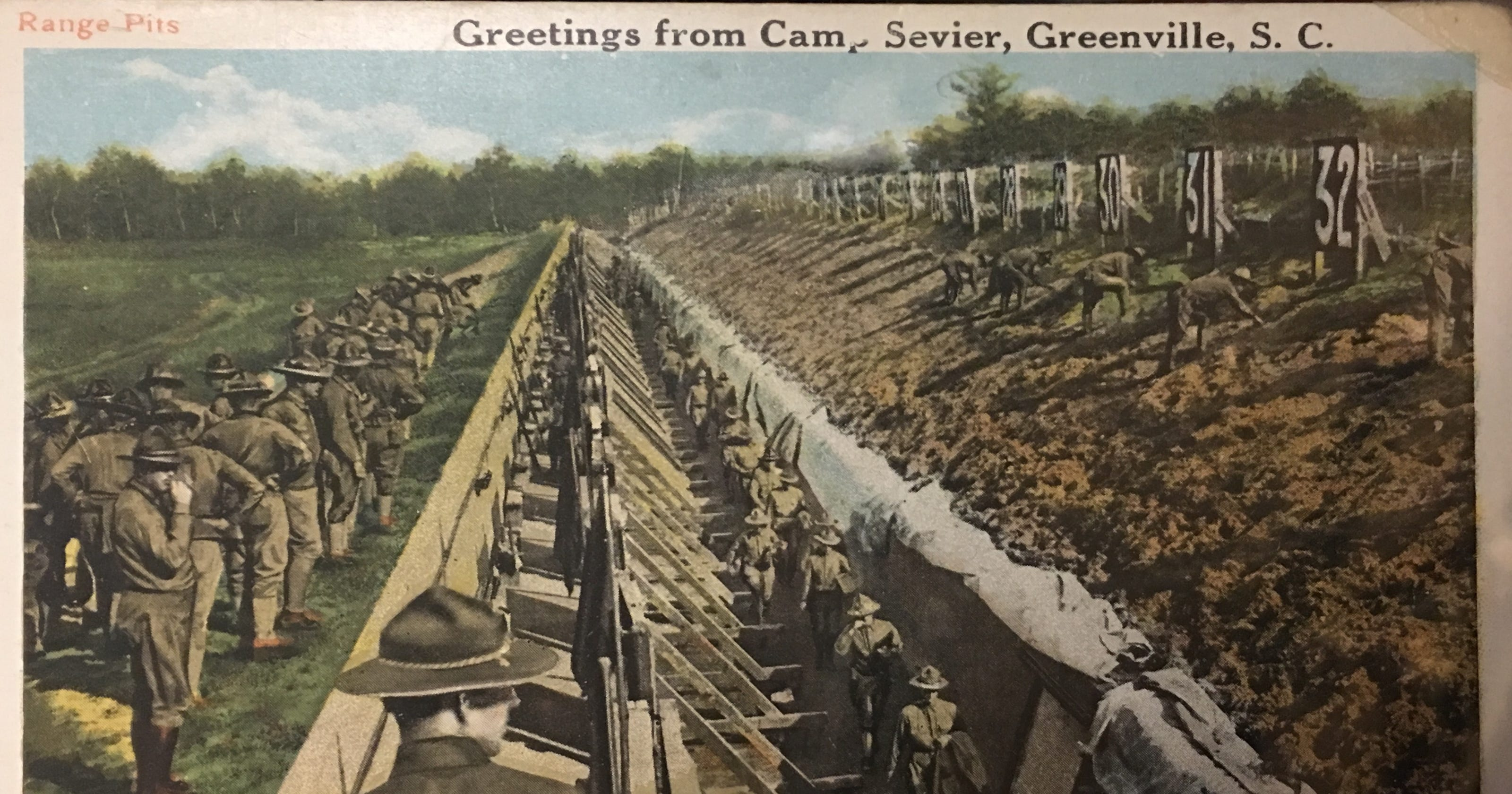 Greenville turned into \'war machine\' 100 years ago