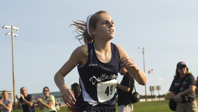 Dallastown's Emily Schuler should be a contender for the league title this season after finishing second as a freshman a year ago.