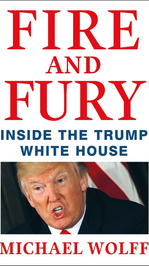 'Fire and Fury' by Michael Wolff