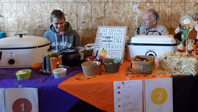 Participants enjoyed sharing their homemade chili during the 2014 Fall Fest Chili Cook-Off.