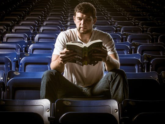 How many NFL QBs do you know with a book club?