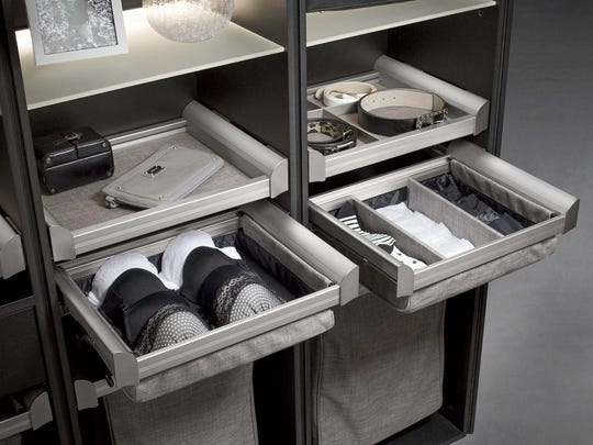 Lingerie drawers from Perfect Closets in Melbourne. Courtesy Mario Dotto.JPG