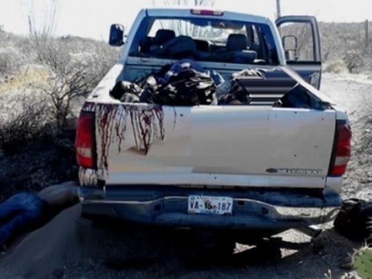 Mexico border shooting