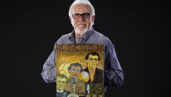 Bob Allen, of Phoenix, created his work, Call Me Chuck.