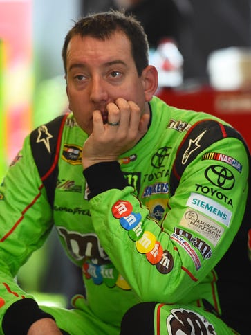 Kyle Busch missed 11 races after crashing into an unprotected