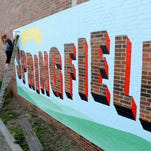 Street artist Andrea Ehrhardt