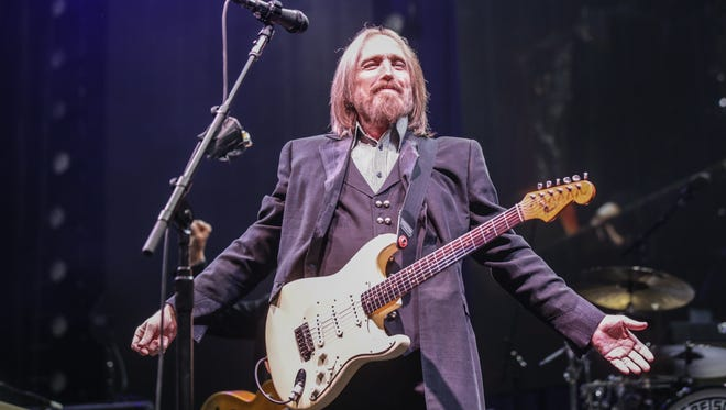 Tom Petty and the Heartbreakers take the stage at Klipsch Music Center, as part of their 40th Anniversary Tour May 13, 2017 in Noblesville, Ind.