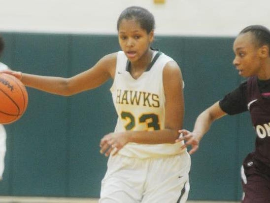 Senior guard Kristen Nelson, who signed with Southern Illinois University, will be a four-year starter for the Hawks.
