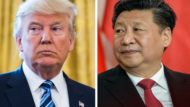 President Trump and China President Xi Jinping