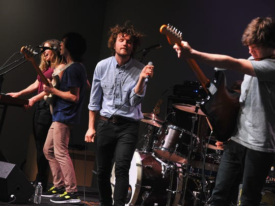 Ra Ra Riot performs in New York in 2013.