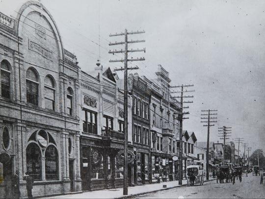 1909 Long Branch  Broadway looking West.  Asbury Park
