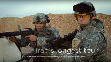 Fact check: Mowrer ad misleads on time in Iraq