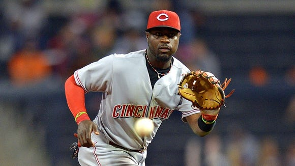 Brandon Phillips has four Gold Gloves in his trophy case.