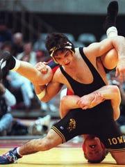 Bill Zadick had an all-American career at Iowa in the