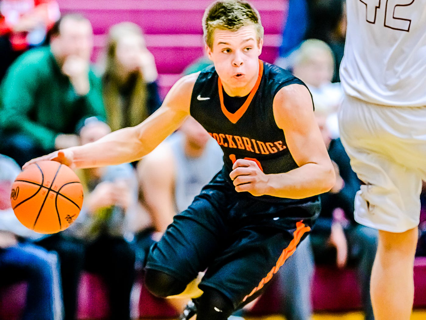 Stockbridge's Kolby Canfield was one of the top scorers in Tuesday's games.