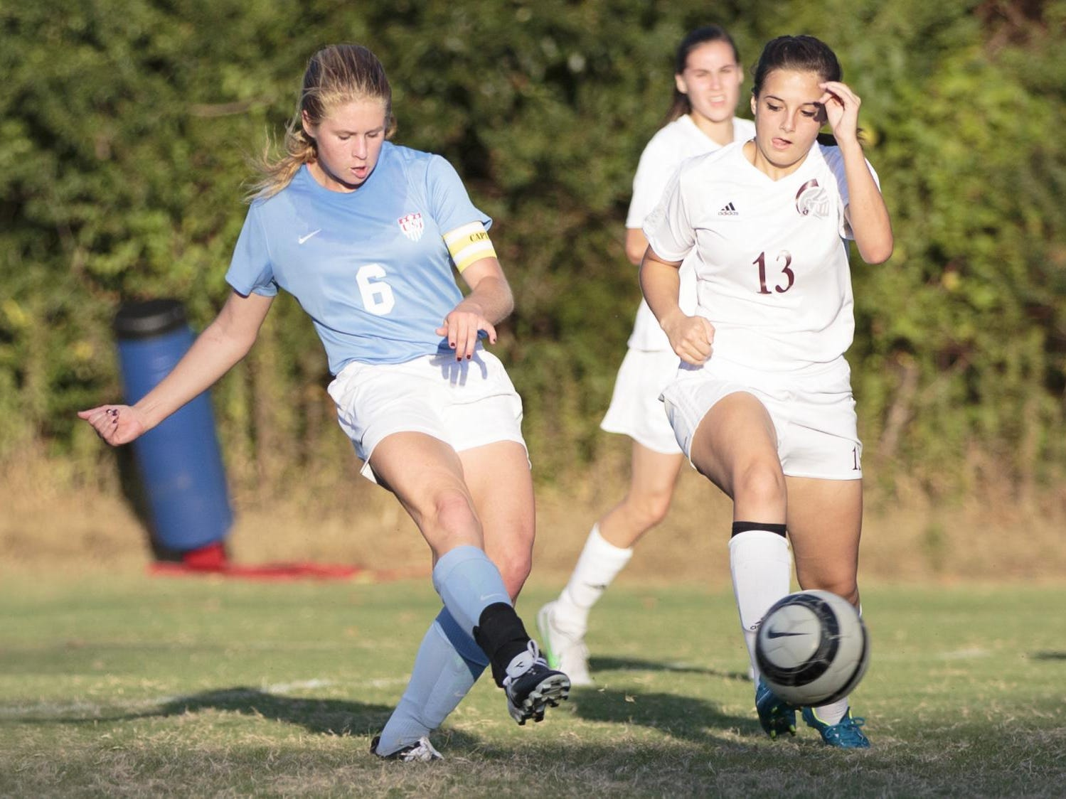USJ's Addison Dunn is only current girls' soccer player in West Tennessee with a state championship.