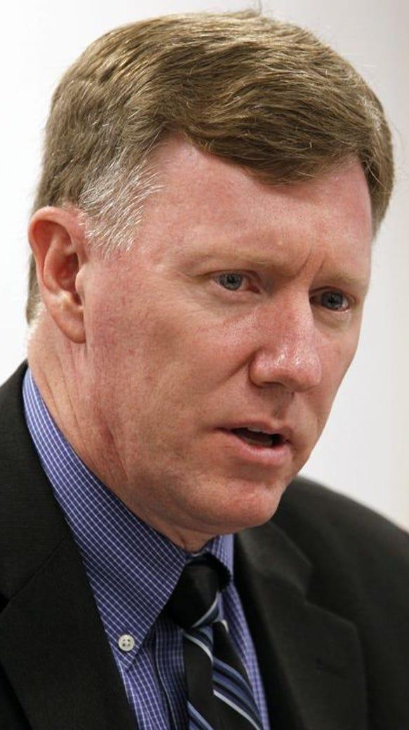 Mesa Public Schools Superintendent Michael Cowan, who