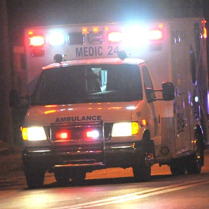 Three men are in critical condition after a crash at