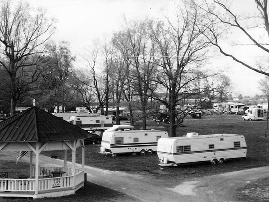 Camp Coonpath is shown in this photo. Al Moore owned the park from 1988 until 2001.