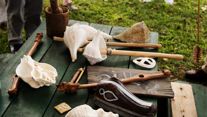 """Learn how the Calusa made and used tools during the """"Shell age"""" during tours May 17  at the Mound House on Fort Myers Beach."""