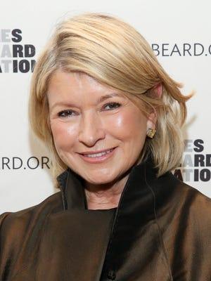 Martha Stewart attends 2013 The James Beard Foundation's Women In White gala at Four Seasons Restaurant on Nov. 15 in New York.