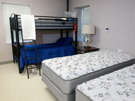 The newly opened Paul's Place has enough beds to accommodate 45 residents, though only six are living there now with another seven moving in.