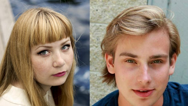 Shelby Kahr (left) and Evan Board (right).