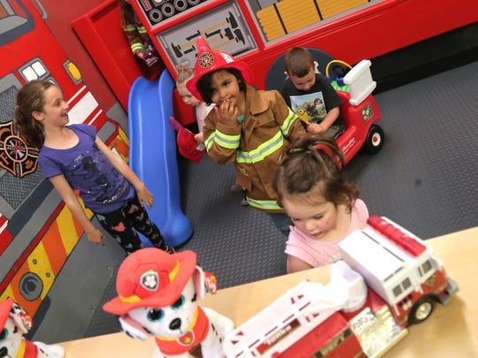 The new fire truck exhibit at the Little Buckeye Children's Museum is sponsored by Hamilton Insurance and Mansfield firefighters in collaboration with the Mansfield Fire Museum. The public can come and see the new fire truck for the first time at 10 a.m. Saturday at 44 W. Fourth St.