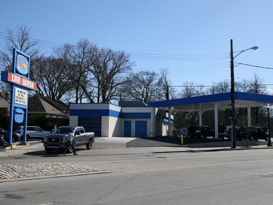 Gill's Car Wash on Madison Road in Oakley, Tuesday,