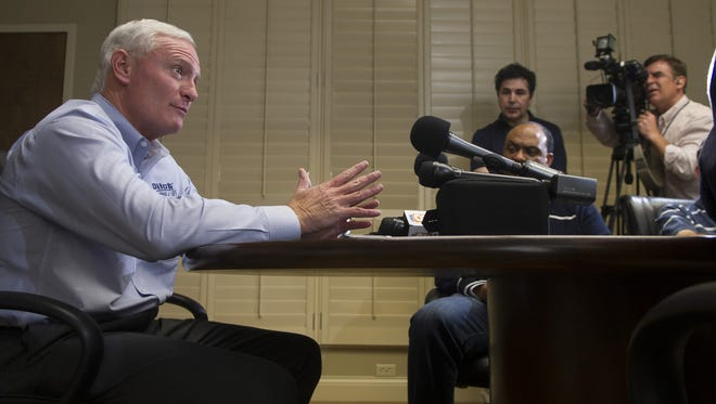 Pilot Flying J CEO Jimmy Haslam has repeatedly denied any knowledge of the rebate fraud scheme plaguing his company. But he's never had to testify under oath about the issue, says attorney Stephen Tunstall.