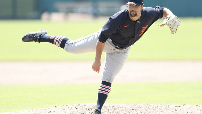 Zack Godley was working out with the Tigers in Detroit before he was released earlier this week.