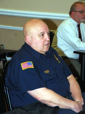 Mickey DeLoreto, chief of Jefferson Fire Company No. 2, talks about the need for a new fireboat.