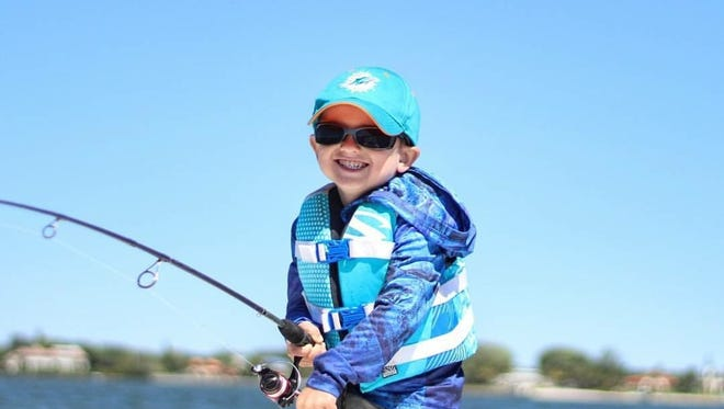 """Cooper Jacques says, """"Always wear your life jacket."""""""