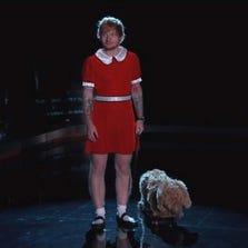 """Ed Sheeran as Little Orphan Annie on """"Kimmel."""""""