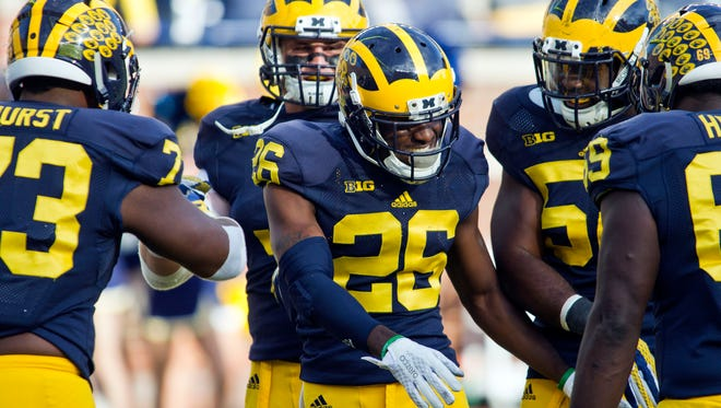 Michigan defensive back Jourdan Lewis.