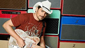 Brad Paisley will perform at the Giant Center Friday, Feb. 17.