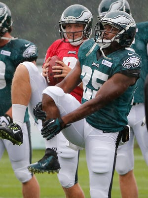 """In this league, you have to learn how to push through pain, if you can,"" Eagles running back LeSean McCoy said."