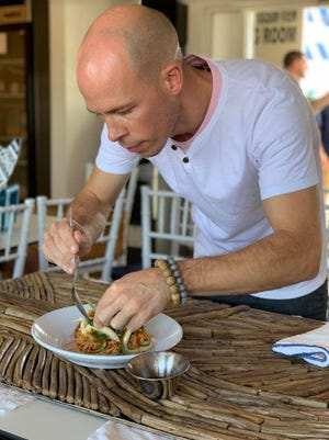 Jeremy Hanlon, the executive chef at Benny's on the Beach since 2013, is directing the opening of a Latin American-themed restaurant in Lake Worth Beach.