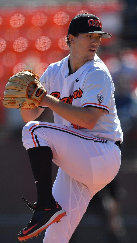 Travis Eckert was 6-4 with a 3.28 ERA in 14 starts this season.
