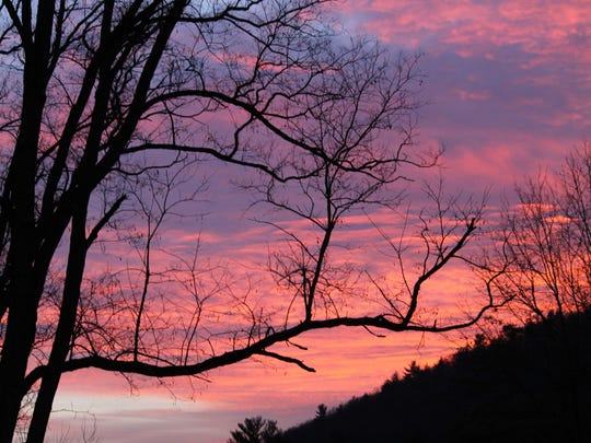 """""""Sunsent"""" by Audrey Steinhorn is part of the photography exhibit at the Esopus Library in Port Ewen through April 30."""