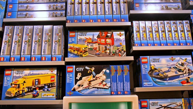 The LEGO Store at Castleton Square hosts monthly Mini Model Build events requiring online registration the previous month.