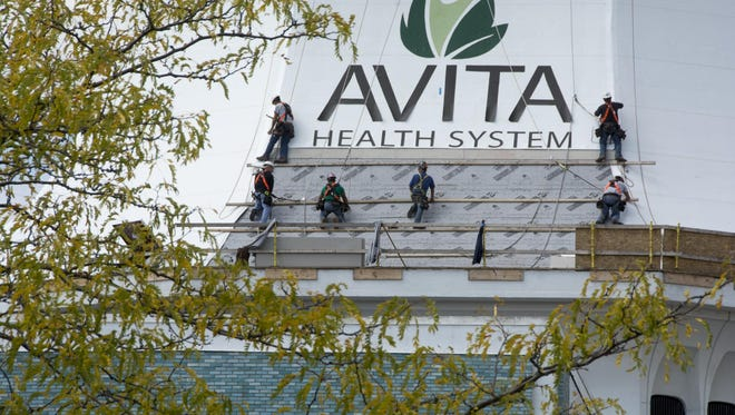 Part of Richland Mall was remodeled in September 2014 to house Avita Health System.
