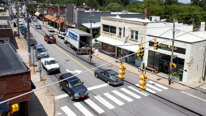 The city will hold a meeting to gather input on Haywood Road.