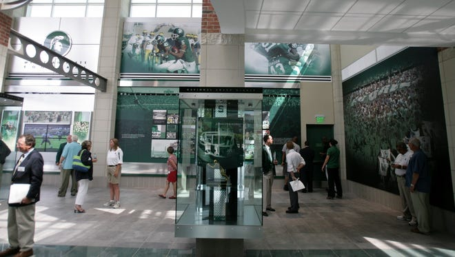The Skandalaris Football Center in East Lansing.