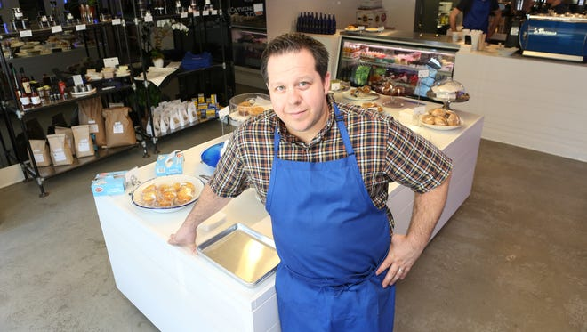 Chef Eric Gabrynowicz at Market North in Armonk. He was nominated for a James Beard Award for Best Chef Northeast for Restaurant North.