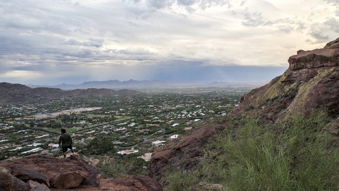 Phoenix resident and avid hiker Rick Kamel plans to be sitting on a mountaintop this New Year's Eve.