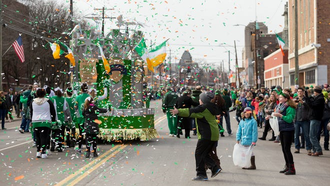 The 49th annual St. Patrick's Day Parade on Saturday in Binghamton.