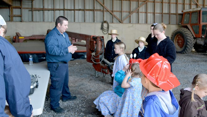 Lebanon office of Penn State Extension will hold its Lebanon County Farm & Home Safety Day Saturday, April 9, at the Lebanon Valley Expo Center and Fairgrounds. Matt Sonnen, left, speaks at a previous Safety Day.