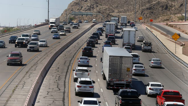 Drivers on Interstate 10 West have faced delays due to road work in the area.